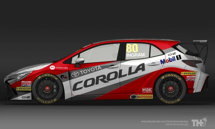 The New Toyota Corolla British Touring Car Championships